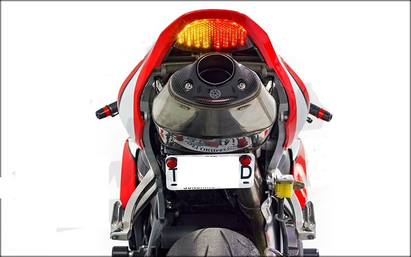 Integrated LED TailLight Turn Signals CBR 600RR 07-12 Smoke V2