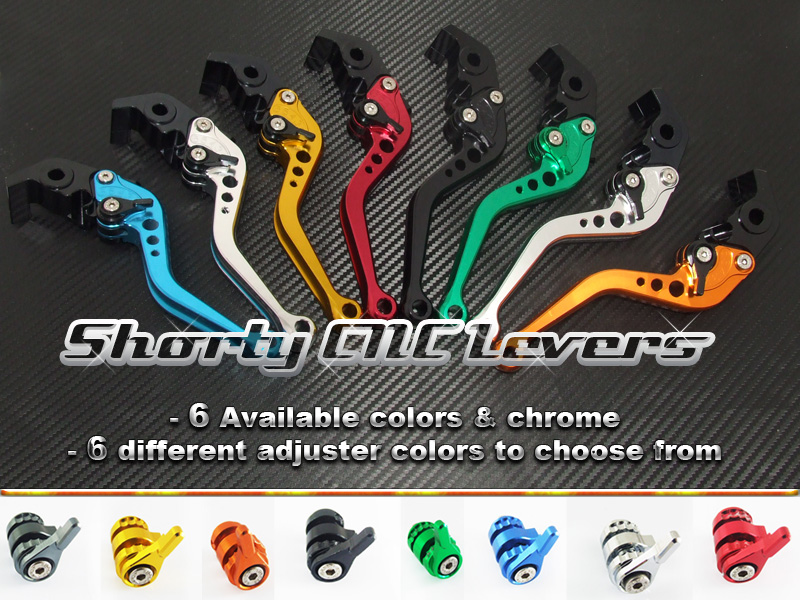 CNC Short Style Levers