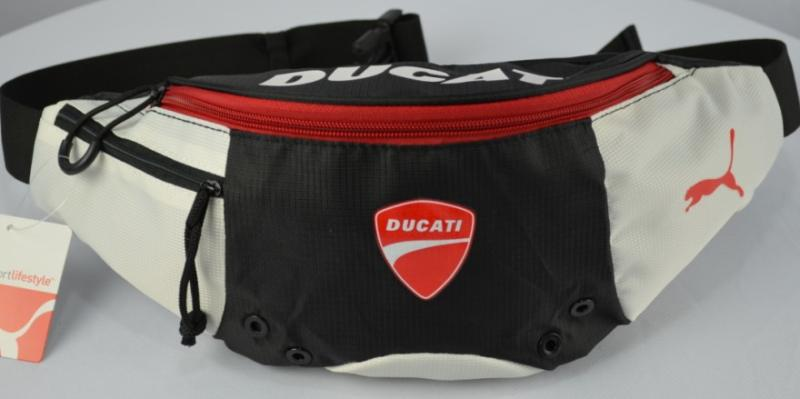Ducati Motorcycle Outdoor Sports Waist / Chest Bag Black