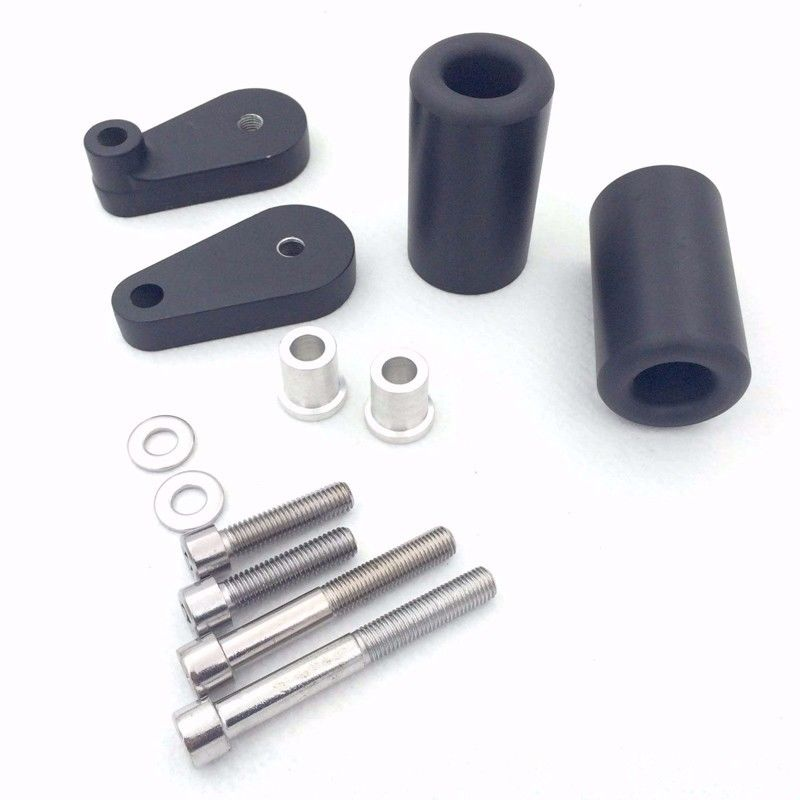 Frame Sliders Kawasaki ZX10R 04-05 Black