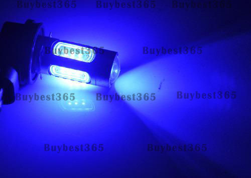 2x Bright Blue H11 Cree 16W LED projector Fog Driving Light Lamp