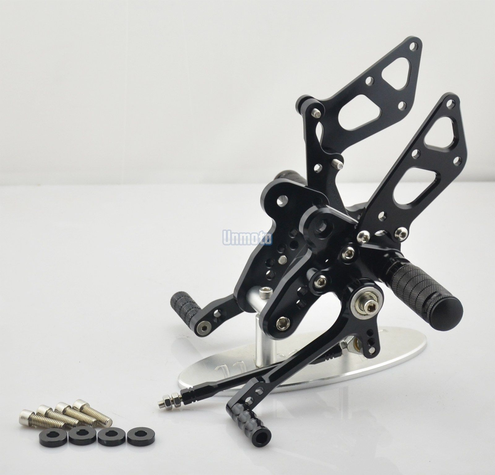 CNC Foot pegs rear set Suzuki Hayabusa 99-12 Black