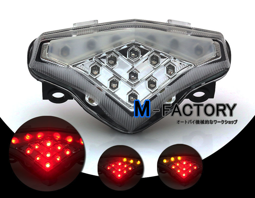 Integrated LED TailLight Turn Signals Ninja 650R/ER6 12-15