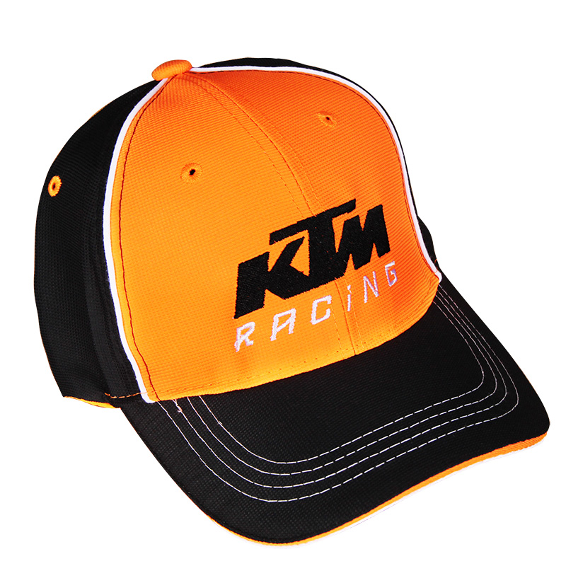 Moto GP KTM Motorcycle Embroidered Baseball Hat Black