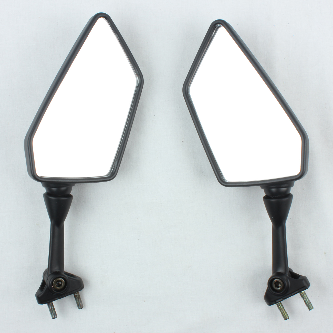 Mirrors for Kawasaki 250R EX250 2008-2013 Black