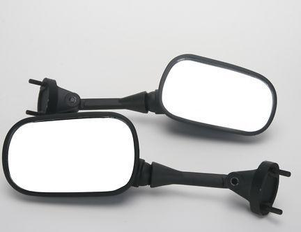 Mirrors for Kawasaki ZX6R 05-08 ZX10R 04-08 Black