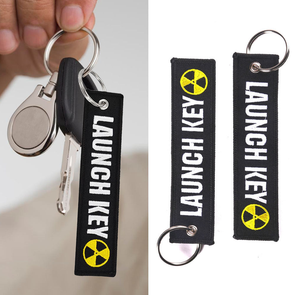 Launch Key Ring Keychain Pilot Bag Crew Tag Luggage