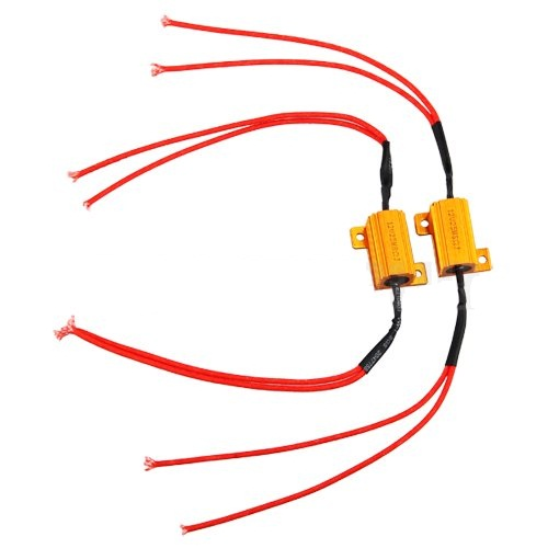2x 25W LED Indicator Turn Signals Load Resistors (LED FIX)