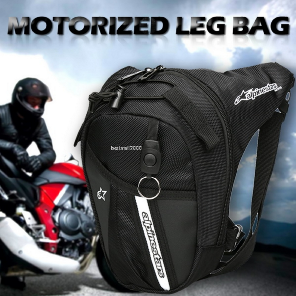 Motorcycle Drop Leg Waist Hip Bag pack Alpinestars