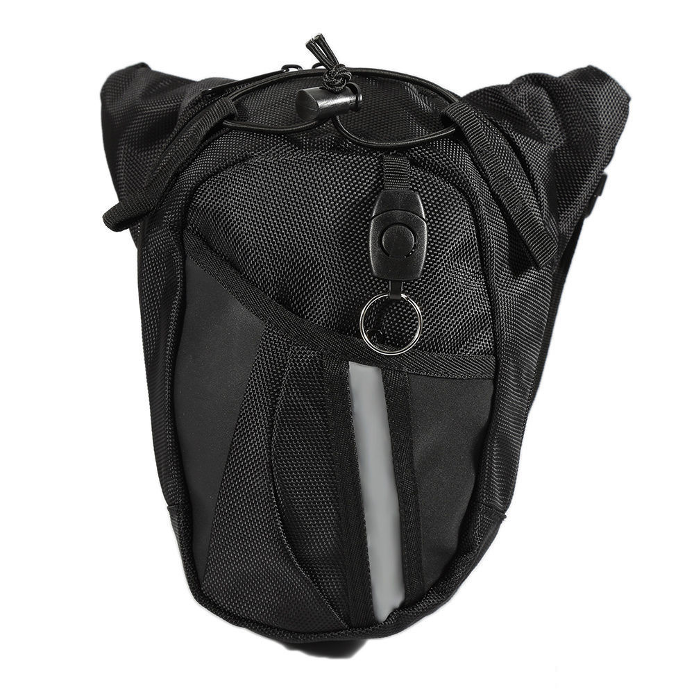 Motorcycle Drop Leg Waist Hip Bag pack No Name