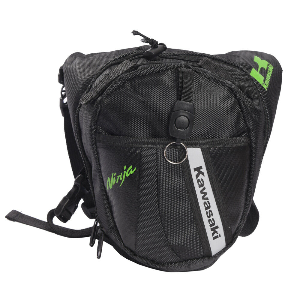 Motorcycle Drop Leg Waist Hip Bag pack Kawasaki Monster