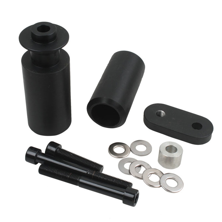 Frame Sliders Yamaha R6 06-07 Black - TechParts