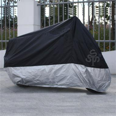 MotorcycleOutdoor Waterproof Rain Dust Cover XXXL Black