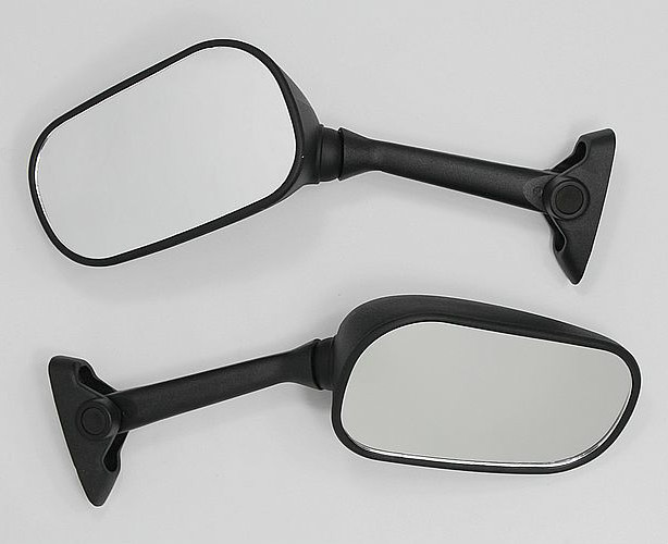 Mirrors for Suzuki GSXR 2004-2005 SV BANDIT Black