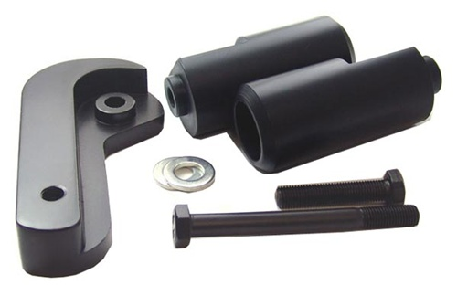 Frame Sliders Suzuki GSXR 600 750 06-09 Black - TechParts