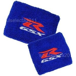 Reservoir Cover Socks SUZUKI GSXR Blue