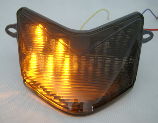 integrated led taillight turn signals zx6r 05 06 techparts. Black Bedroom Furniture Sets. Home Design Ideas